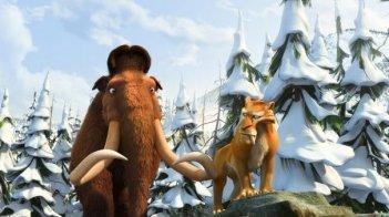 Il mammouth Manny e la tigre Diego protagonisti di L'era glaciale 3 - L'alba dei dinosauri