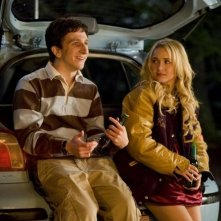 La bionda Hayden Panettiere e Paul Rust in una scena di I Love You, Beth Cooper