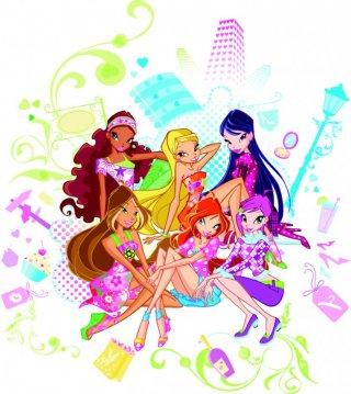 Le WInx in un'immagine promozionale della quarta stagione della serie Winx Club