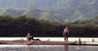 Michael Emerson e Terry O'Quinn in una scena dell'episodio Dead is Dead di Lost