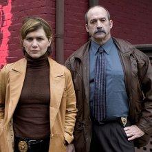 Mitchell Kosterman e Tracey Gold nel film tv 'Safe Harbor'