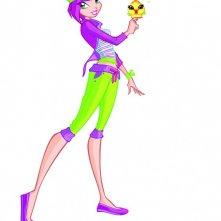 Tecna in un'immagine promozionale della quarta stagione della serie Winx Club
