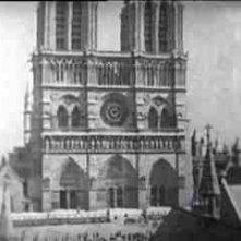 Una veduta della cattedrale di Notre Dame ne Il gobbo di Notre Dame