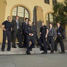 Il cast di Southland in una immagine promozionale della serie