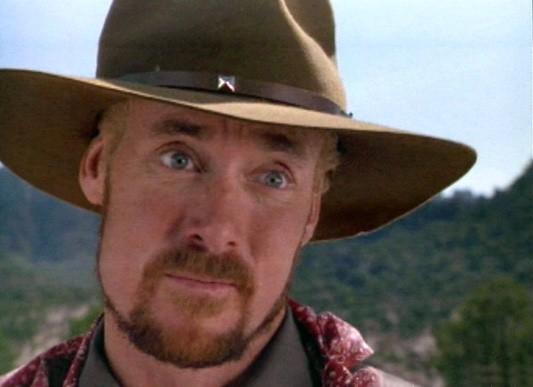 John C Mcginley In Una Scena Del Western Wagons East 111477