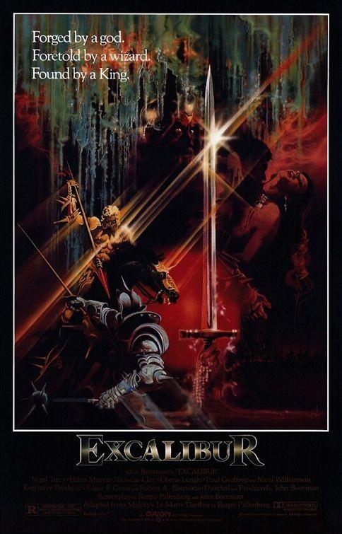 La Locandina Di Excalibur 111544
