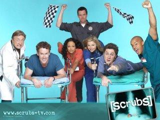 Wallpaper con i protagonisti di Scrubs