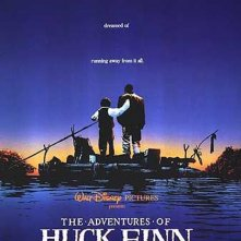 La locandina di Le avventure di Huckleberry Finn