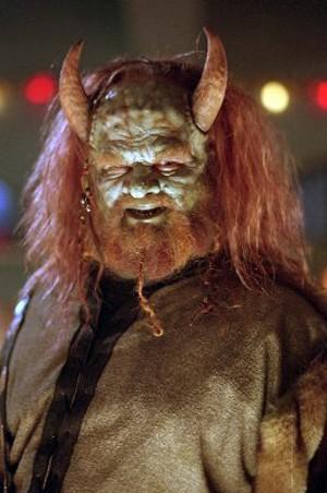 Abraham Benrubi E Olaf Nella Serie Televisiva Buffy 111674