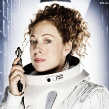 Alex Kingston in un wallpaper di Doctor Who