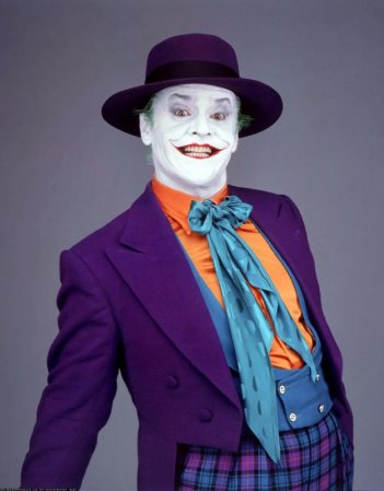 Jack Nicholson è Joker in Batman