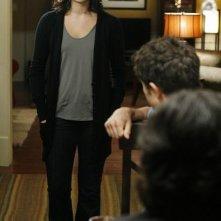 Jaimie Alexander durante una scena dell'episodio Guess Who's Coming to Dinner, della serie tv Kyle XY