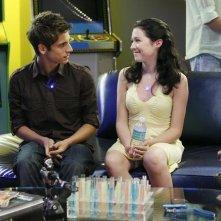 Jean-Luc Bilodeau con Brenna O'Brien in un momento dell'episodio 'Chemistry 101' della serie tv Kyle XY