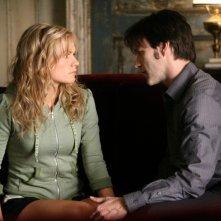 True Blood: Anna Paquin e Stephen Moyer in una immagine della seconda stagione della serie