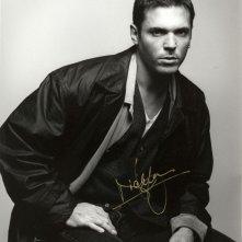 Un autografo di Nicholas Lea