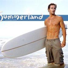 Un wallpaper sexy di Ryan Kwanten nella serie Summerland