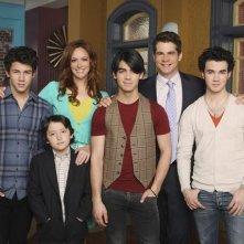 Il cast di JONAS in una foto promozionale della serie
