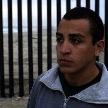 Jacob Vargas in una scena del film Sleep Dealer