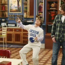 Jason Earles e Billy Ray Cyrus in una scena dell'episodi What I Don't Like About You di Hannah Montana