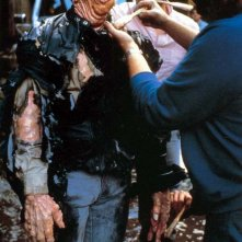 Paul McCrane sul set di  Robocop