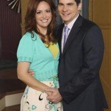Rebecca Creskoff e John Ducey in una foto promozionale della serie J.O.N.A.S!