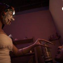 Una sequenza inquietante dell'horror Takut: Faces of Fear