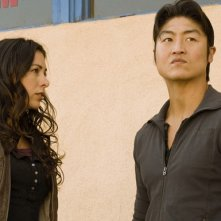 Brian Tee durante un momento dell'episodio 'F-36, Sprint Left, T-4' della serie tv Crash