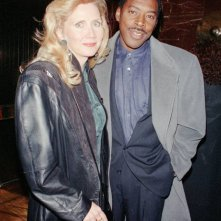 Ernie Hudson e moglie