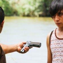 Luis Chavez in un momento dell'episodio 'Three Men and a Bebe' della serie Crash