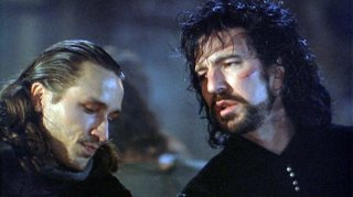 Michael Wincott e Alan Rickman in Robin Hood: Principe dei ladri