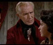 Vincent Price, Myrna Fahey e Mark Damon in una scena de I vivi e i morti