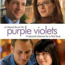 La locandina di Purple Violets