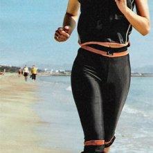 Nicola Tiggeler in spiaggia