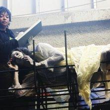 Tamala Jones in una scena dell'episodio A Chill Goes Through Her Veins  di Castle