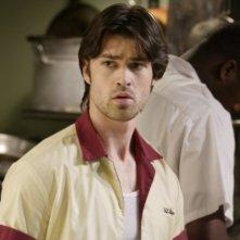 Corey Sevier n una scena dell'episodio 'Fracture' della settima stagione di Smallville