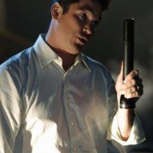 Dean Cain in una scena dell'episodio ' Il prezzo dell'immortalità' della settima stagione di Smallville