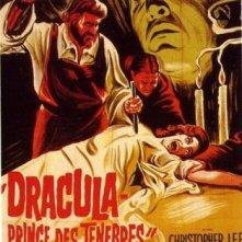 Locandina francese di Dracula principe delle tenebre