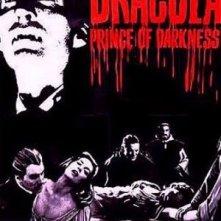 Locandina inglese di Dracula principe delle tenebre