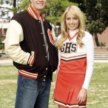 Megan Park e Greg Finley in una foto promozionale de La vita segreta di una teenager americana