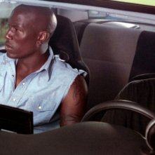 Tyrese Gibson e Paul Walker in una scena di 2 Fast 2 Furious