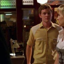 Allison Mack e Aaron Ashmore in una scena dell'episodio 'La fondazione Isis' della settima stagione di Smallville