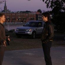 Chad Michael Murray e James Lafferty in una scena dell'episodio Searching for a Former Clarity di One Tree Hill