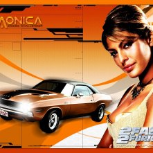 Eva Mendes, wallpaper del film 2fast 2furious