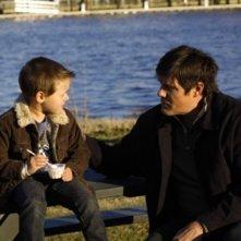 Jackson Brundage e Paul Johannson in una scena dell'episodio Searching for a Former Clarity di One Tree Hill