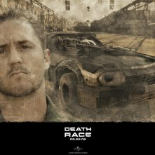 Justin Mader è Travis Colt in un wallpaper di Death Race