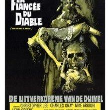 Locandina tedesca di The Devil Rides Out (1968)