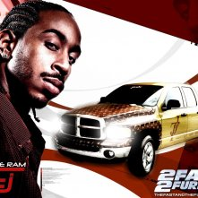 Ludacris in un wallpaper di 2fast 2furious