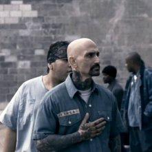 Robert LaSardo in una scena del film Death Race