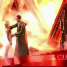 Una scena dell'episodio 'La fondazione Isis' della settima stagione di Smallville