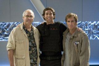 Chevy Chase, Zachary Levi e Scott Bakula nell'episodio 'Chuck Versus the Dream Job' della serie tv Chuck